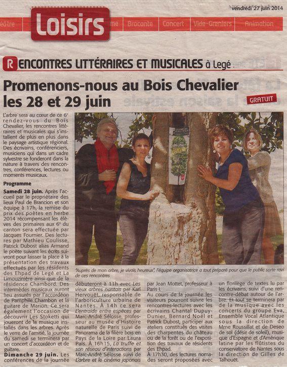 Courrier du Pays de Retz 27 juin 2014