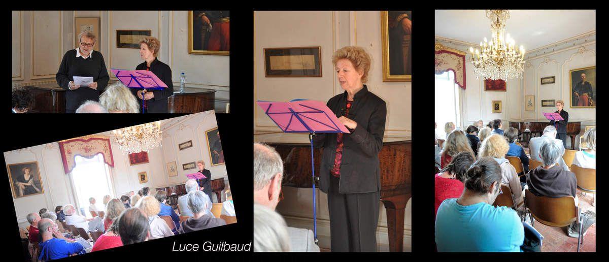 Rencontre lecture avec Luce Guilbaud