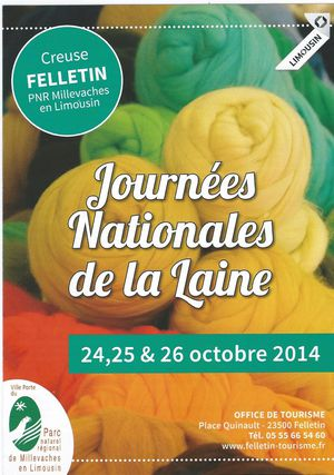 JOURNEES NATIONALES DE LA LAINE - FELLETIN