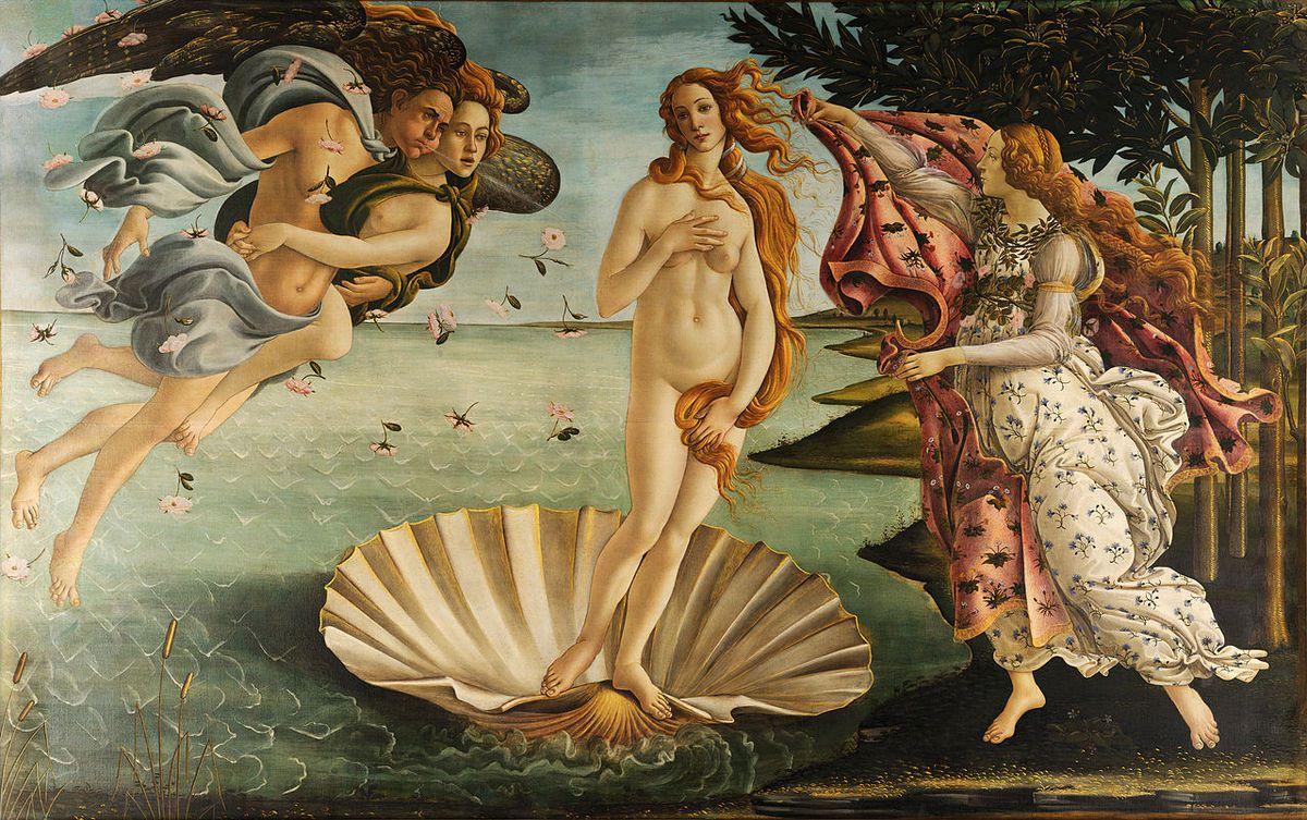 La Naissance de Vénus est un tableau majeur de Sandro Botticelli, peint vers 1485 et conservé aux Offices de Florence.