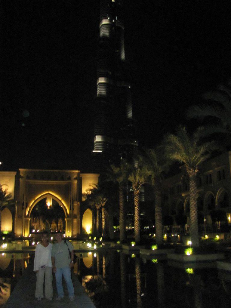 Fin d'année à Dubaï