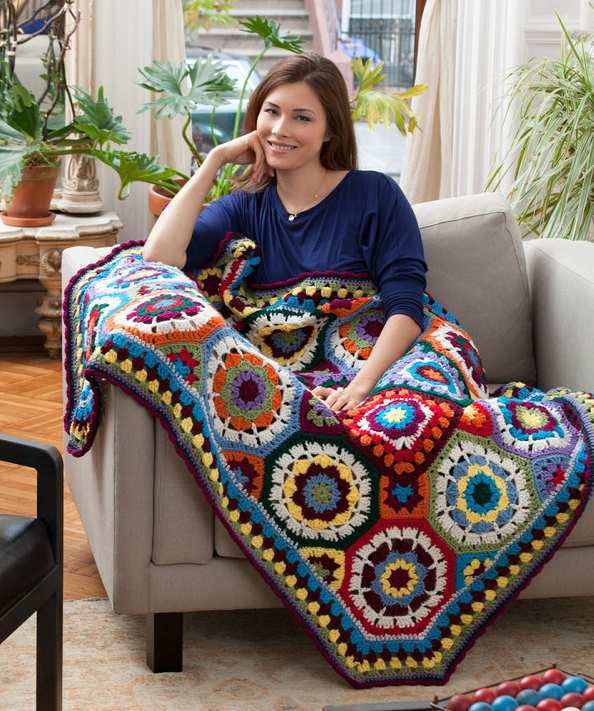 Source : http://thecrochetcrowd.com/color-afghan/