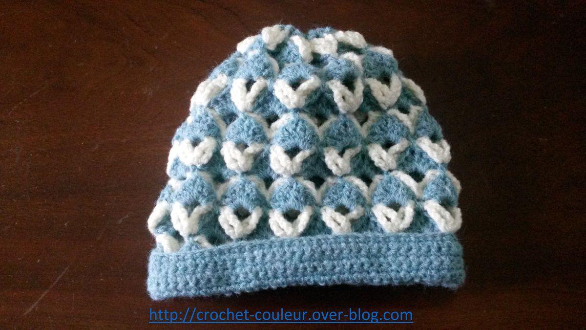 Le bonnet bleu blanc