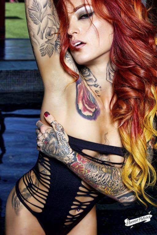 Tatouées et sexy #7 (29 photos)