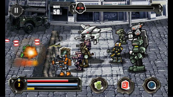 Revenge of Robots - Jeu Flash