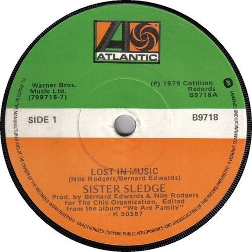 Sister Sledge - Lost In Music (Bordertown Dub)