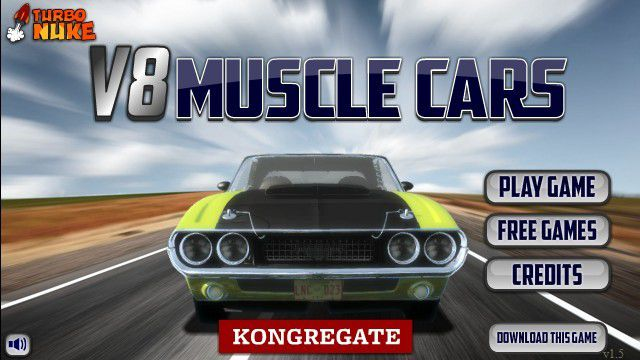 V8 Muscle Cars - Jeu Flash