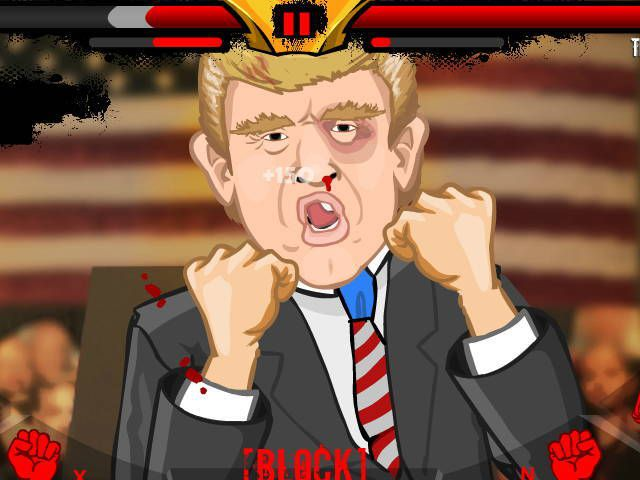 Punch the Trump - Jeu Flash