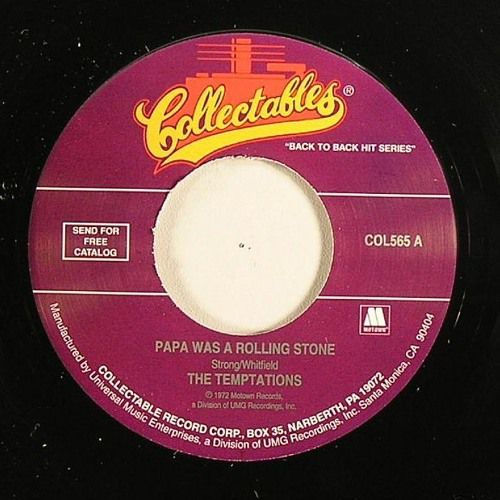 The Temptations - Papa Was A Rolling Stone (Kay's Mama Funkin Edit)