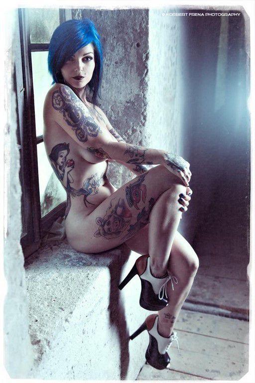 Tatouées et sexy #14 (85 Photos)