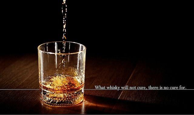 La blague du jour - Eau ou whisky?