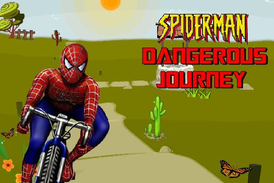Spider-man Monster Journey - Jeu Flash