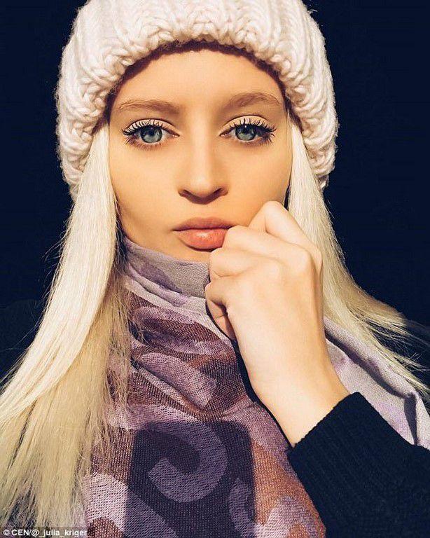 Yulia Kriger la nouvelle barbie girl  russe 100% naturel ou presque!