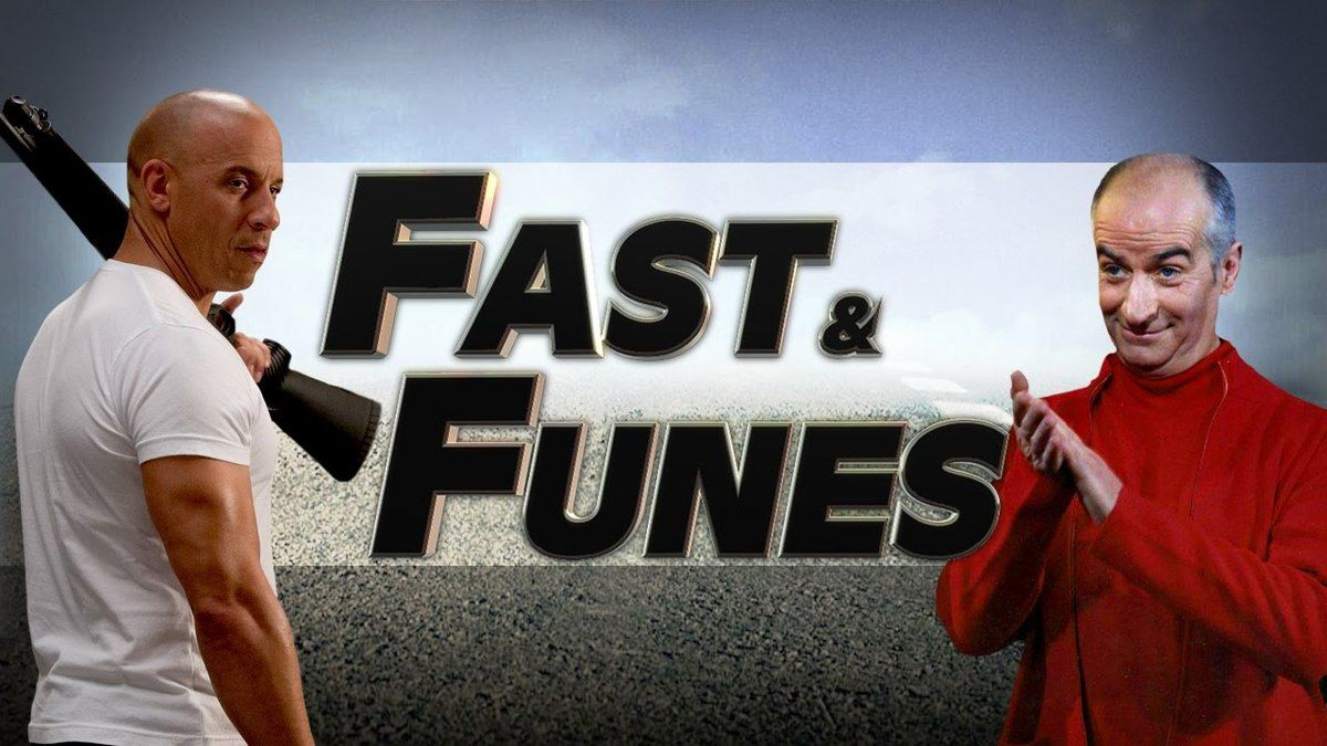 Fast and Funès (Vin Diesel VS Louis de Funès)