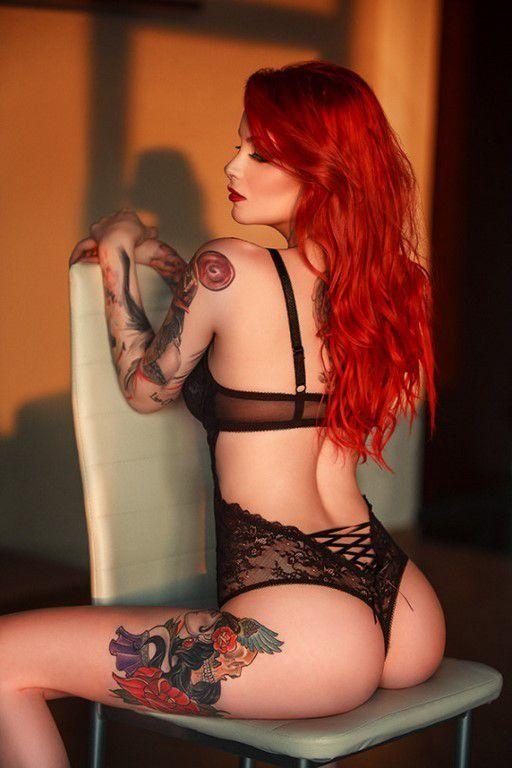 Tatouées et sexy #20 (38 Photos)