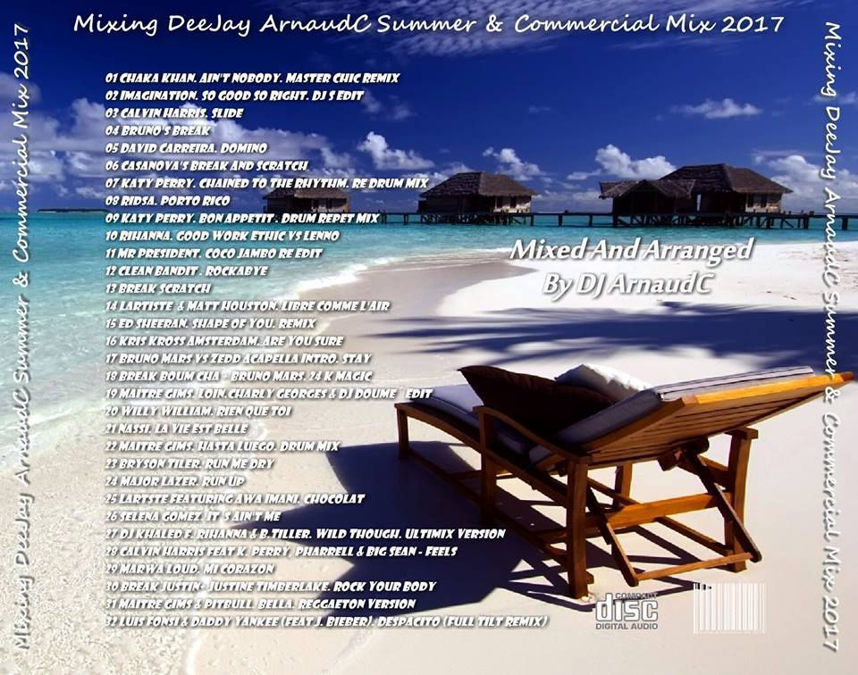 Summer and Commercial Mix - DJ ARNAUDC