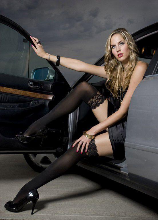 Jolies filles et belles voitures (24 Photos)