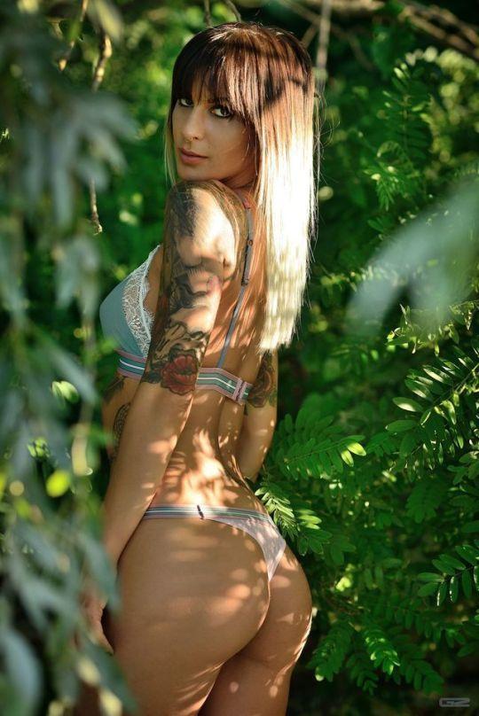 Όμορφα τατουάζ για τα όμορφα κορίτσια της Αμερικής (Φωτογραφίες 24)
