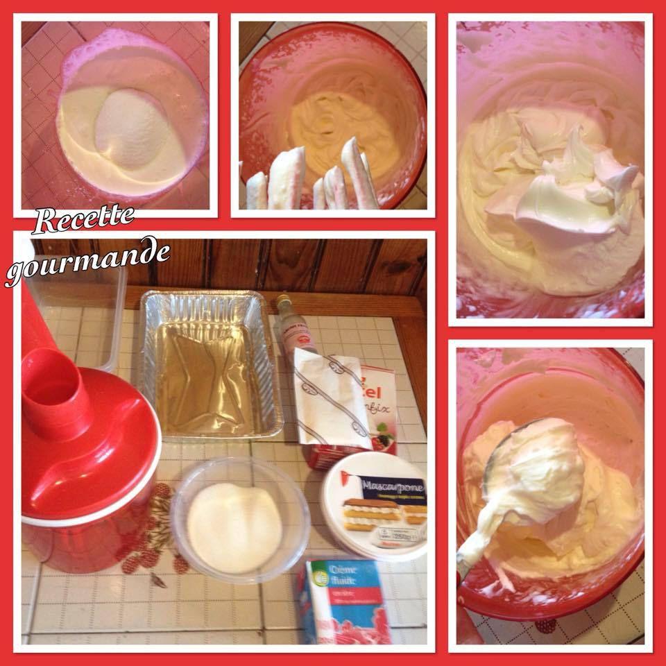 barquette de fraise speculos a la creme mascarpone chantilly a la fraise