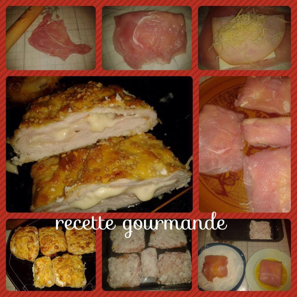 cordon bleu au four