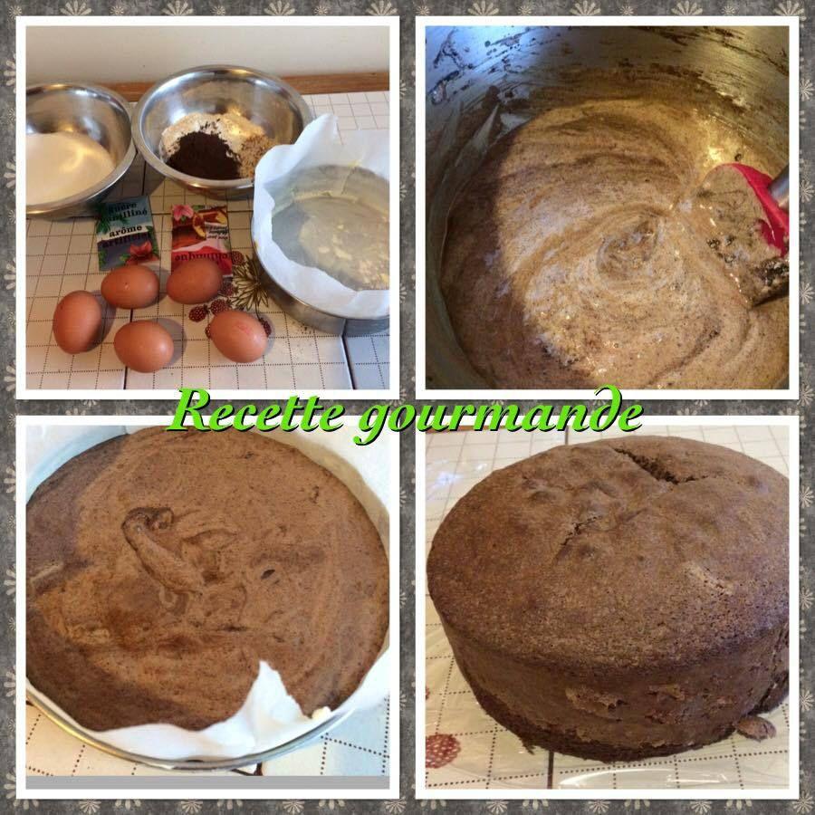 g teau layers cake chocolat garni de cr me mascarpone chocolat blanc pralin deco chocolat. Black Bedroom Furniture Sets. Home Design Ideas