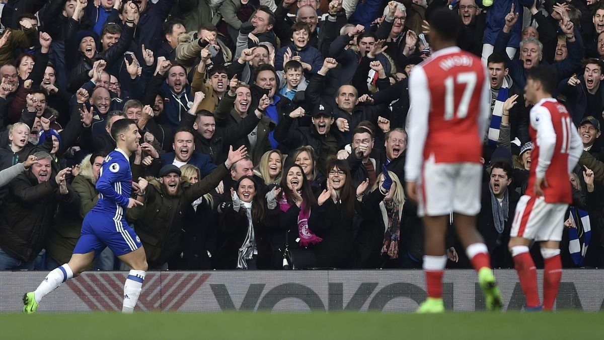 Chelsea bat Arsenal (3-1)