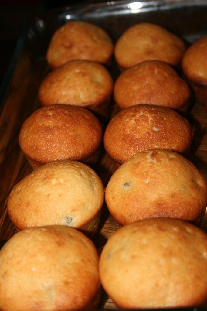 Muffins aux raisins et rhum