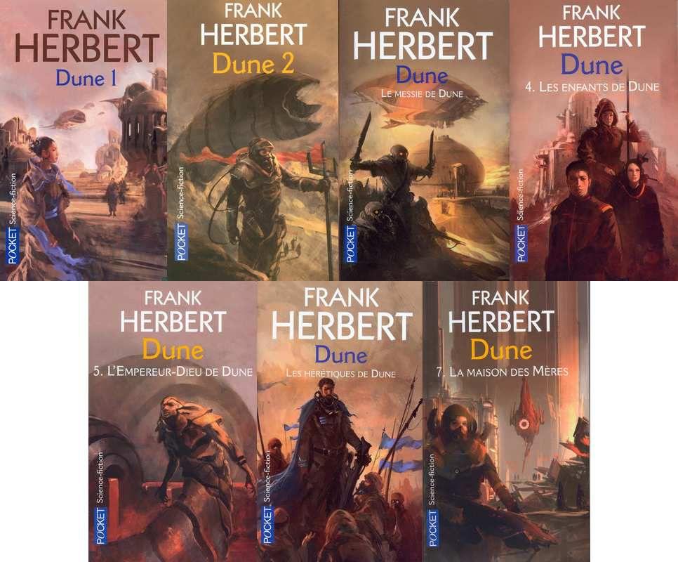 Mes lectures : Franck Herbert , Dune , le cycle de Dune