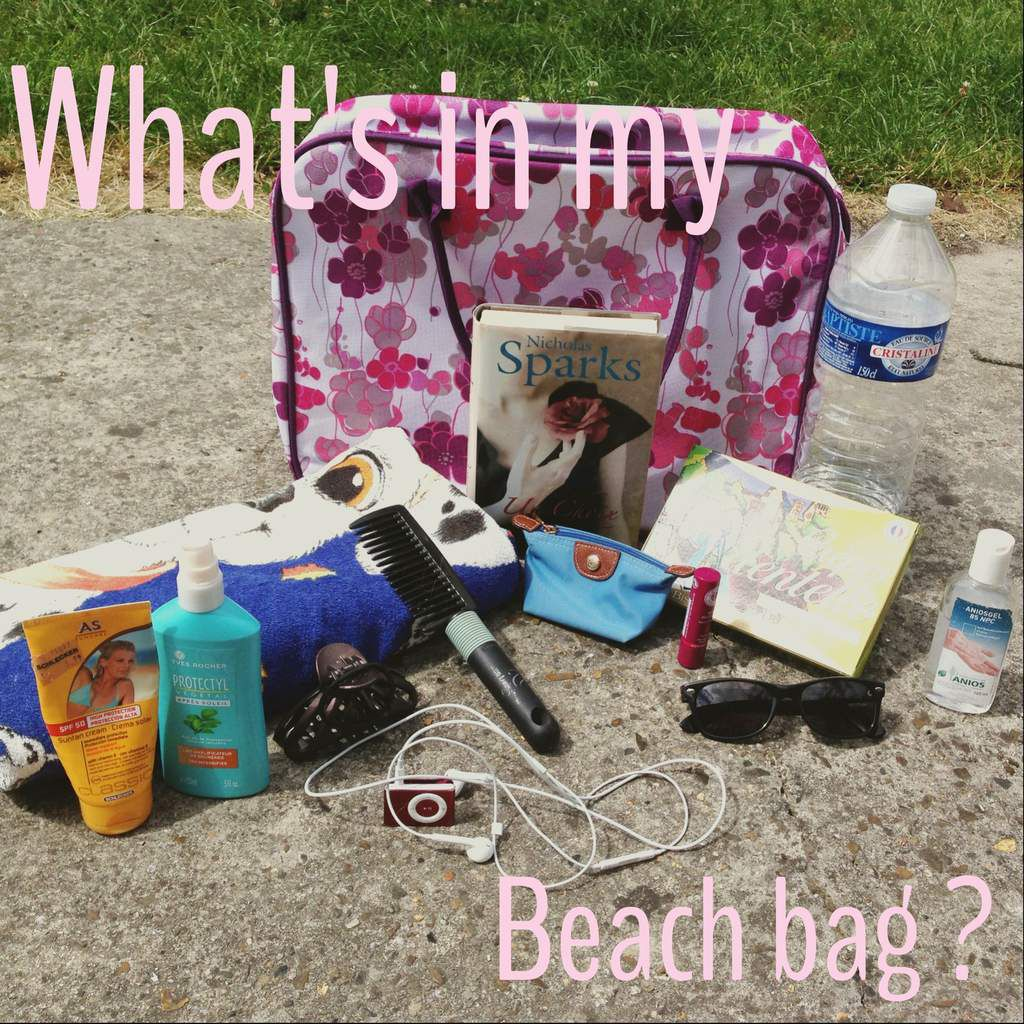 What's in my Beach Bag ??