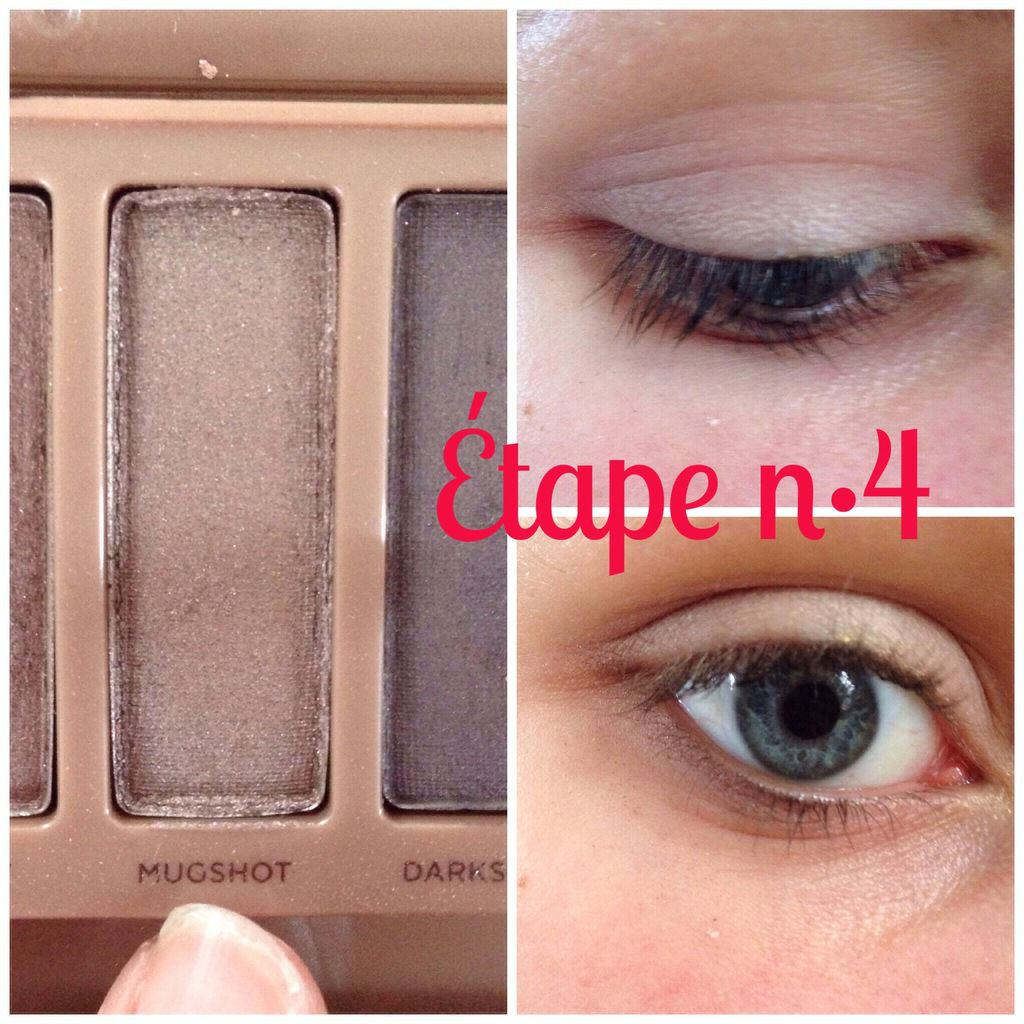 Crédit photo: anouslesfilles // Tuto makeup Naked 3