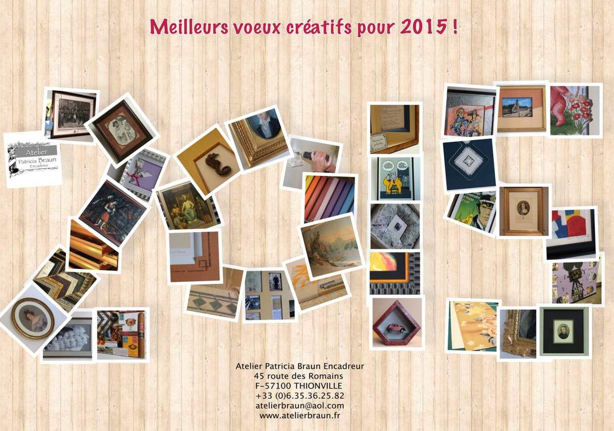 Meilleurs voeux créatifs pour 2015 !