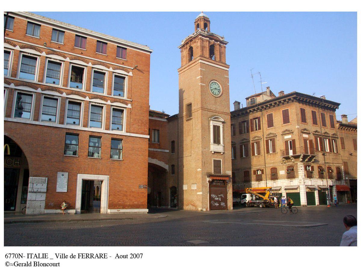 ITALIE (FERRARE)