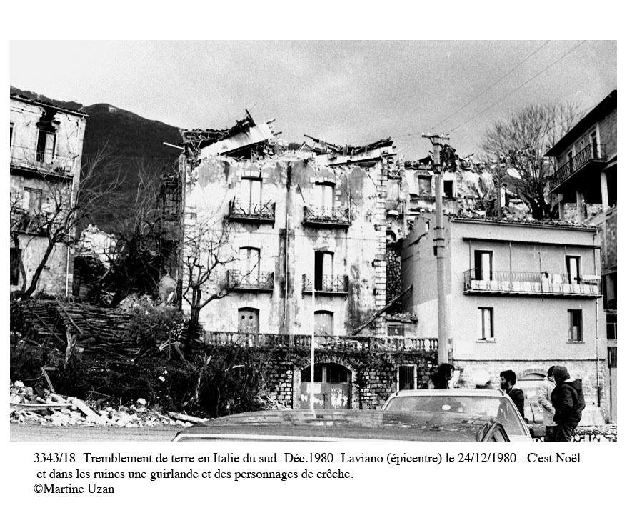 TREMBLEMENT DE TERRE EN ITALIE DU SUD