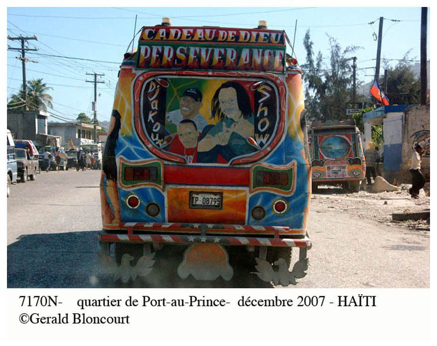 PHOTOS D'HAITI EN 2007