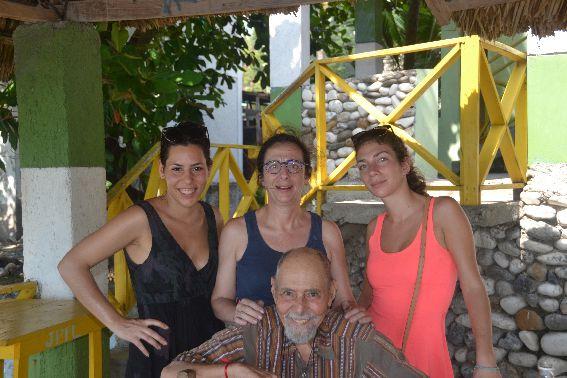 QIUELQUES PHOTOS DES BLONCOURT EN HAITI