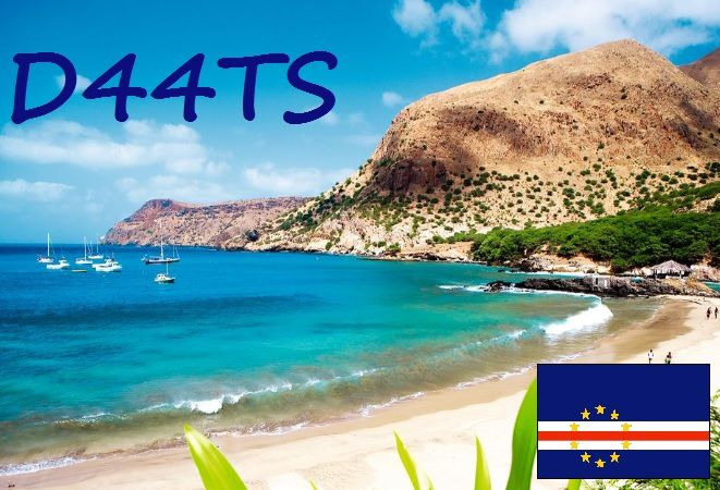 D44TS Cape Verde islands on 6M !