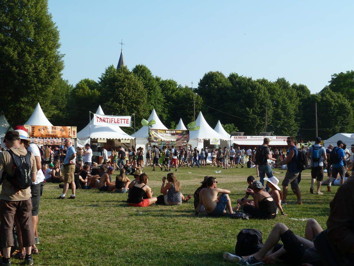 Arras et le Main Square avec entre autres Lenny Kravitz et Shaka Ponk