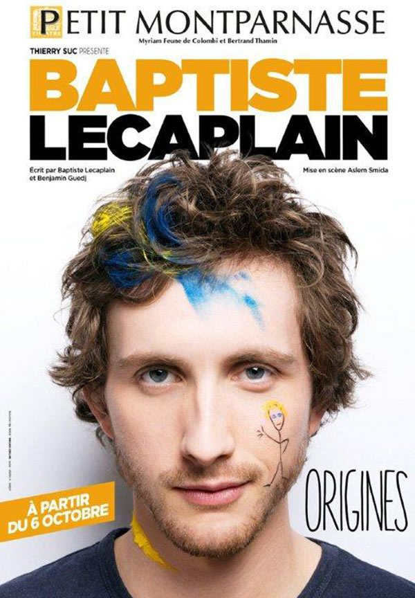 Baptiste Lecaplain, son nouveau spectacle Origines
