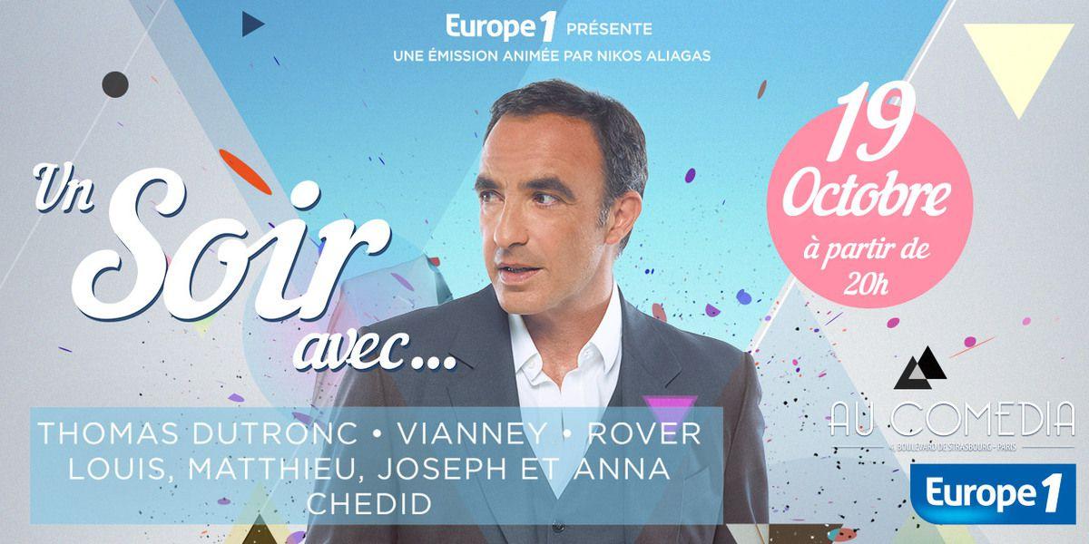 Un Soir Avec... : la nouvelle émission musicale d'Europe 1
