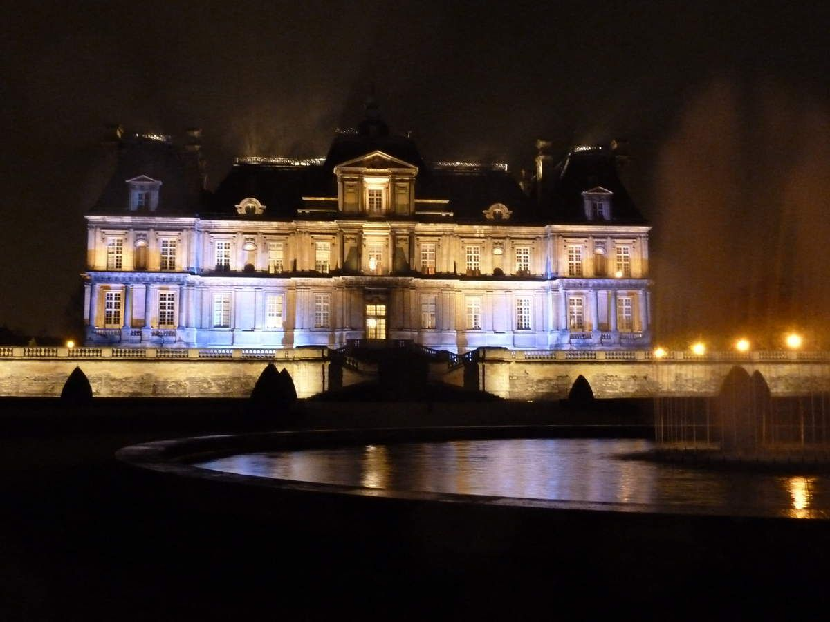 Visite...Le château de Maisons