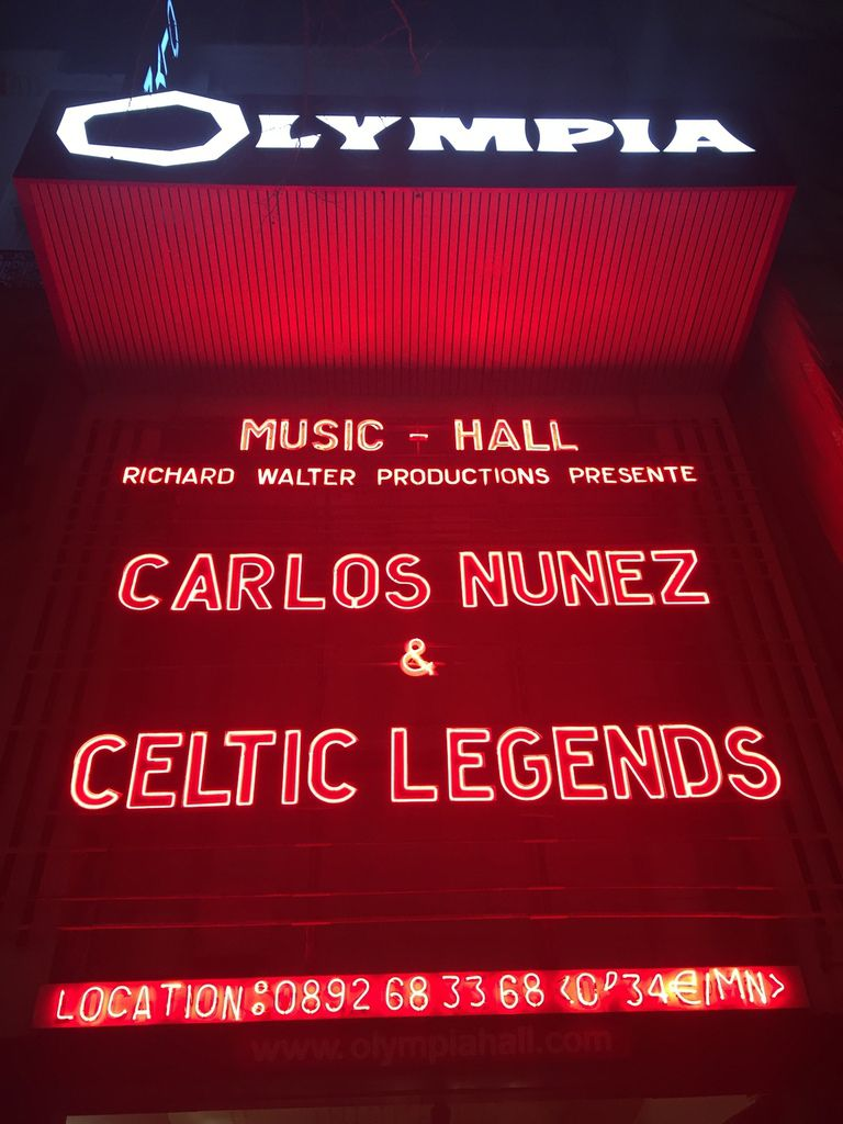 Carlos Nunez &amp&#x3B; Celtic Legends à l'Olympia