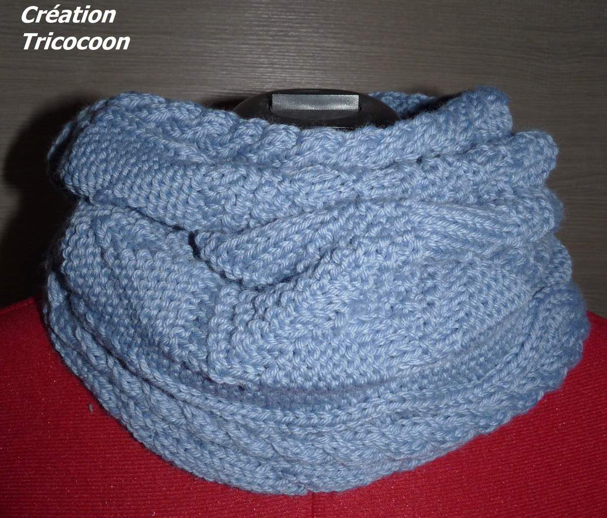 Grand Snood Torsadé
