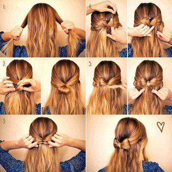 Tuto coiffure : Petit noeud
