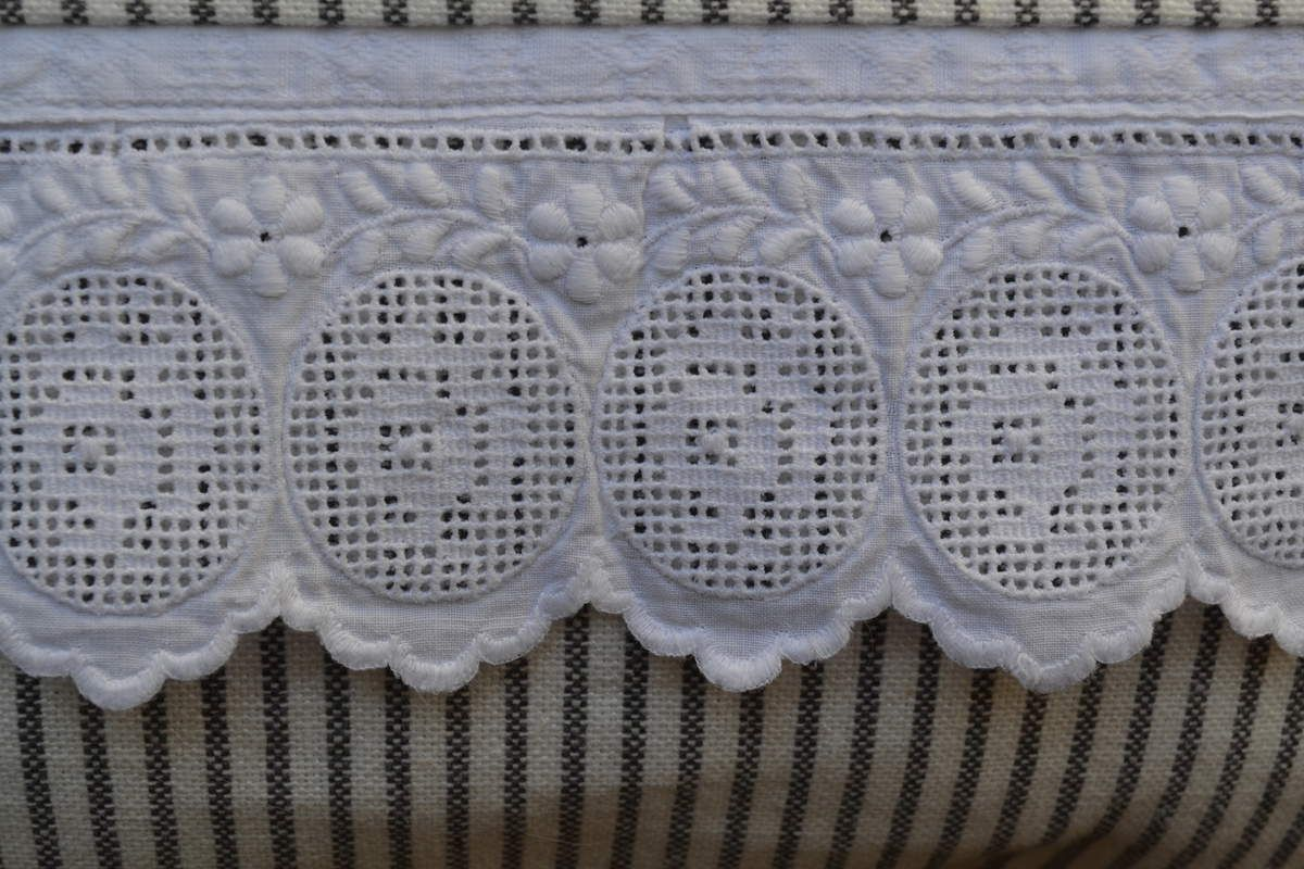 Broderie anglaise chinée