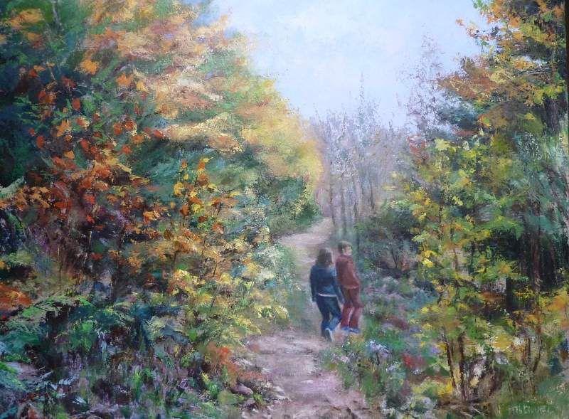 Sentier (forêt de Chantraine)