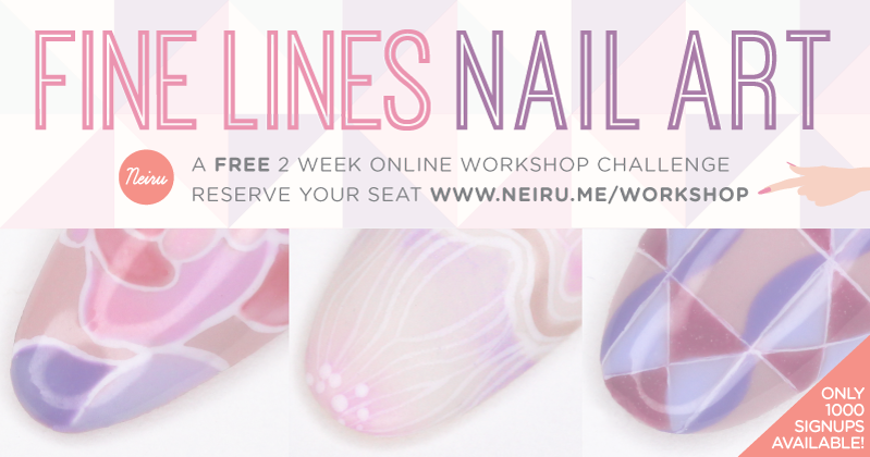 Free Nail Art Online Workshop with Neiru! - Lucy\'s Stash PRO