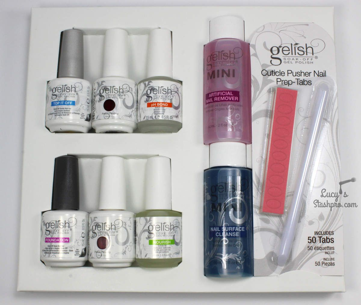 Tutorial: How To Apply &amp&#x3B; Remove Gelish + Gelish Pro 5-45 Kit