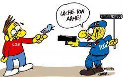 En fait, Philippe Val n'a jamais quitté Charlie Hebdo Comment et pourquoi Charb, directeur d'un hebdo « otanien », a dénoncé LGS aux flics. Par Maxime Vivas pour LGS.
