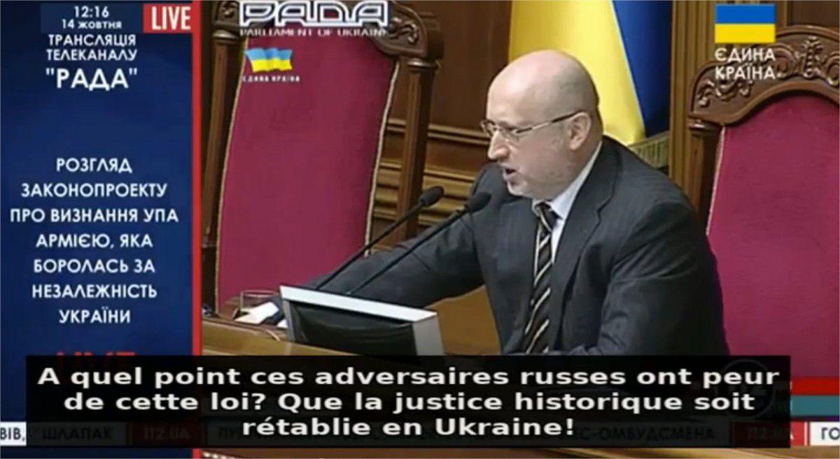 Maïdan 2.0 ? Ca se passe comme ça au parlement à Kiev… Le blog d'Olivier Berruyer le 16 10 2014