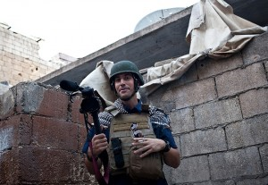 Le journaliste américain James Foley (Photo AFP / Nicole Tung)